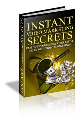 Product picture Instant Video Maketing Secrets - Make More Money Online